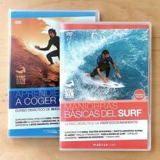 Aprendiendo a Coger Olas + Maniobras Básicas del Surf (Pack Promo)
