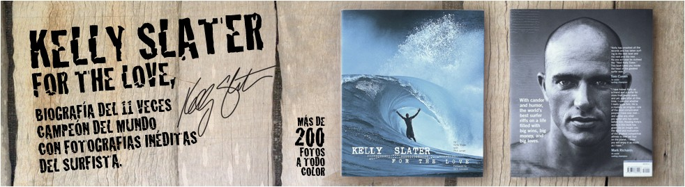 Kelly Slater Book